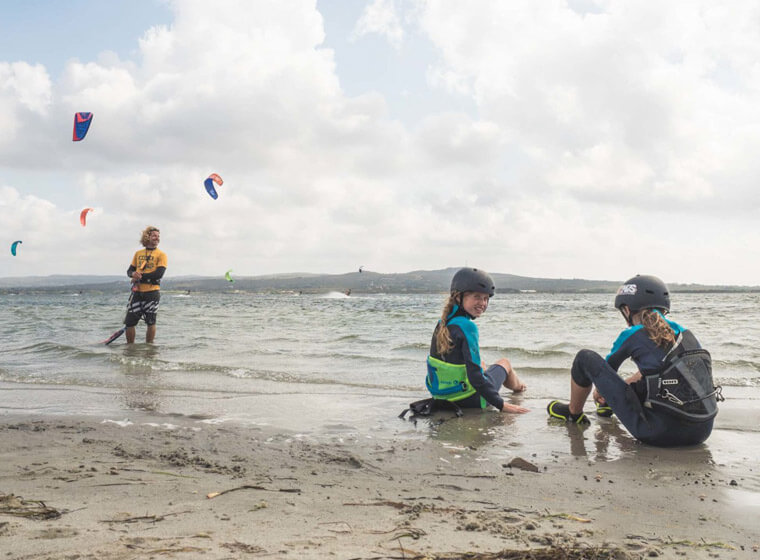 Kite Village Sardegna - Corso kite surf bambini