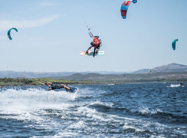 Kite Village Sardegna - Corso kite surf intermedi