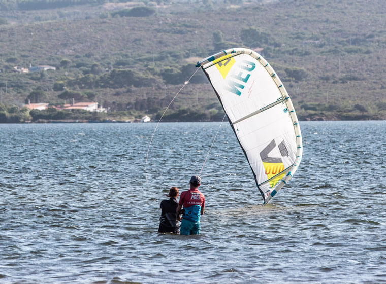 Kite Village Sardegna - Corso kite surf principianti
