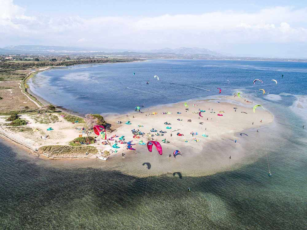 Punta Trettu Kitesurf Sardegna - Kite Village Sardegna